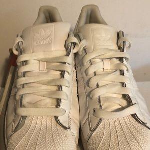 Men's White adidas size 11.5 good condition